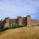 ~ Bamburgh Castle ~ by Sandra Cockayne