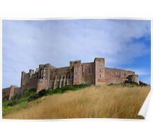 ~ Bamburgh Castle ~ Poster