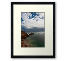 High Cliffs, South Australia Framed Print