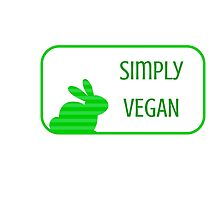 Simply Vegan by IdeasForArtists