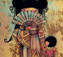 mai and suki by © Cassidy (Karin) Taylor