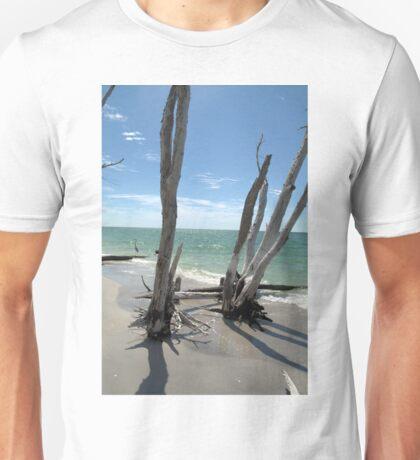 Stumps at Stump Pass Florida, USA Unisex T-Shirt