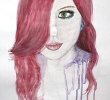 Pink Karma Watercolour by essenn