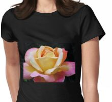 A Rose of Many Colours Womens Fitted T-Shirt