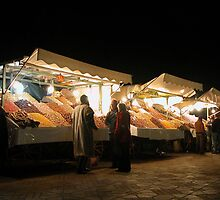Dried Fruit Stall. by romaro