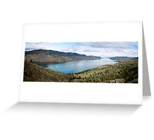 Kamloops River, Canada Greeting Card