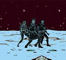 Party on Mars by Matt Burke