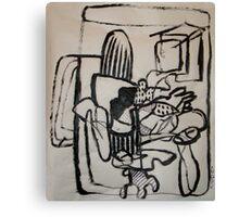 Modern Work Canvas Print