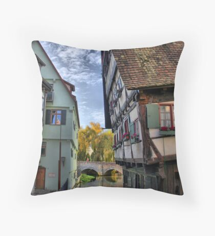 HDR pending house in ULM Throw Pillow