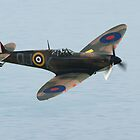 Battle of Britain Memorial Flight Spitfire by Shane Ransom