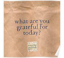Everyday Gratitude Poster