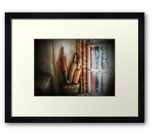 Kitchen Window Framed Print