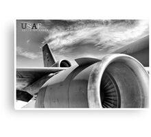 US Air Force KC-10 Extender Aircraft Metal Print