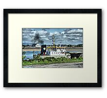 WD Mersey Dredger Framed Print