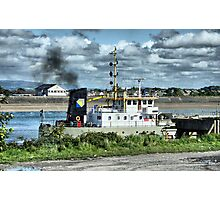 WD Mersey Dredger Photographic Print