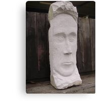 Stone Faced Canvas Print