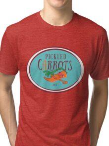 Pickled Carrots, Man. Tri-blend T-Shirt