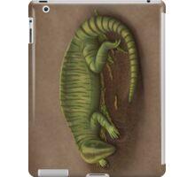 Sleeping Echinerpeton intermedium iPad Case/Skin
