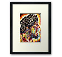 Sad Rage Framed Print