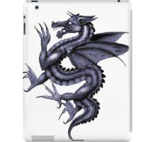 Dragon in blue iPad Case/Skin