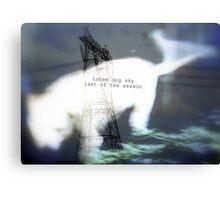 totem dog sky last of season Canvas Print