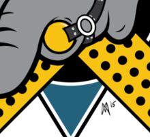 Washington DC Mighty Cucks Cuckservative Hockey Logo Sticker