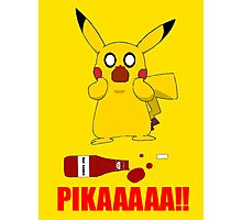 Oh No Pikachu! Photographic Print