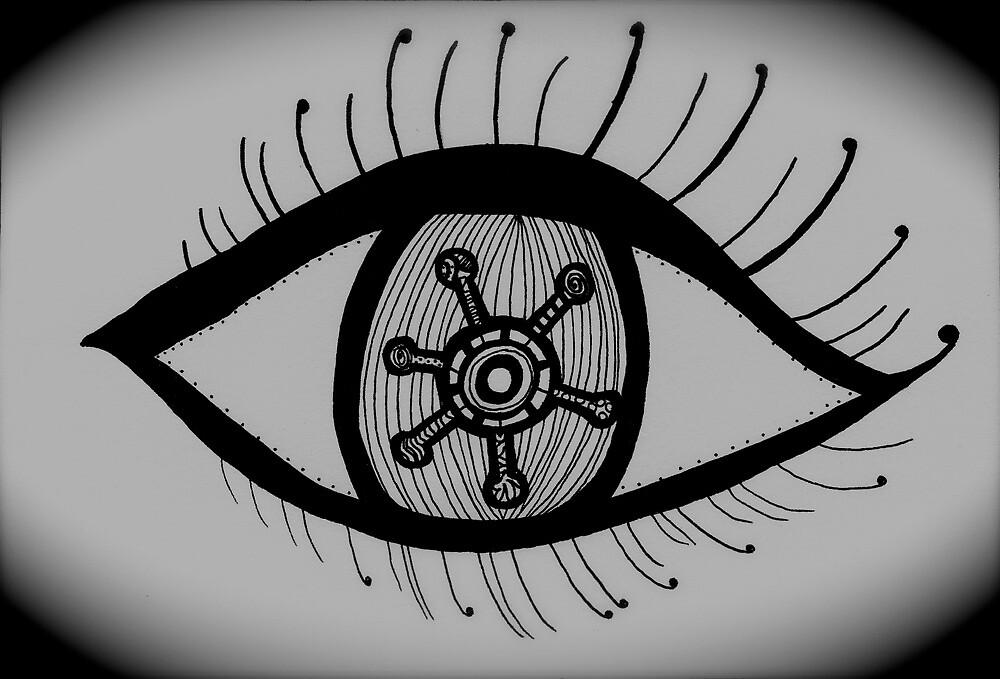 Black Eyed Girl by lissyjane