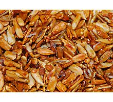 Roasted Sunflower Seeds in Soy Sauce  Photographic Print