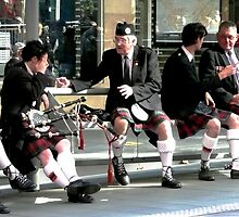 The kilted people by Janette Anderson