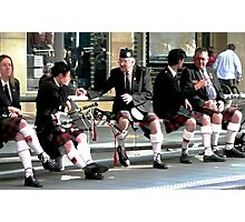 The kilted people Photographic Print