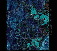 Massachusetts  USGS Historical Topo Map MA Easthampton 350933 1964 25000 Inverted by wetdryvac