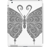 Black and white butterfly iPad Case/Skin