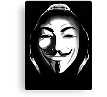 ANONYMOUS T-SHIRT Canvas Print