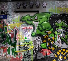 Graffiti Croft Al Melbourne by Scott Sheehan
