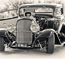 Blown '32 Hotrod by Mark Greenmantle