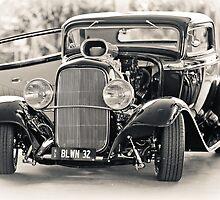 Blown '32 Hotrod by Mark Greenmantle