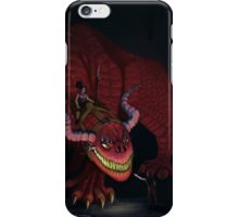 Great Red Dragon iPhone Case/Skin
