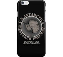 OUTPOST 31! iPhone Case/Skin