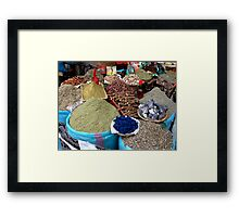 The Spice of Life. Framed Print
