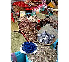 Spice Market. Photographic Print