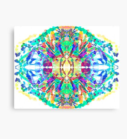 Abstract Psychedelic Gem  Canvas Print