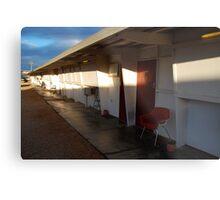 Retro Motel, Nullarbor Plain Metal Print