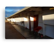 Retro Motel, Nullarbor Plain Canvas Print