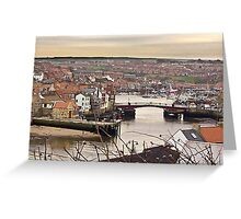 Whitby - North Yorkshire Greeting Card