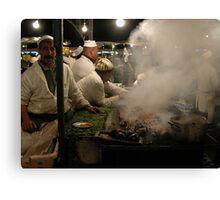 Marrakesh Sausage. Canvas Print