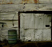 Rusty Garage by Kristy-Lee
