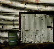 Rusty Garage by Kristy-Lee