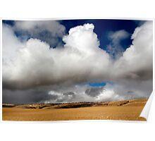Australian Farmland Landscape Poster
