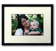 Momma & Me Framed Print